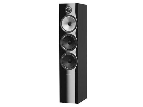 703 S2 3-WAY Floor Standing Speaker Pair Gloss Black