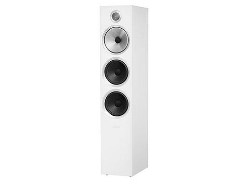 703 S2 3-WAY Floor Standing Speaker Pair Satin White
