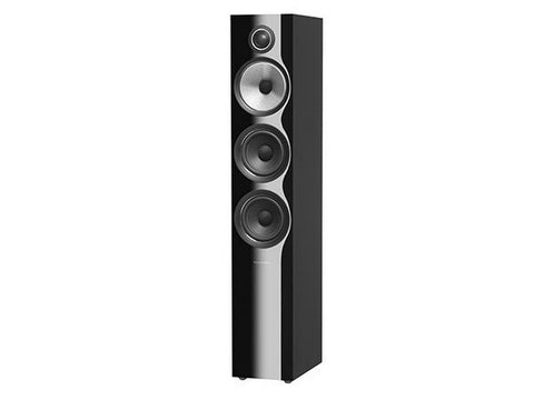 704 S2 3-WAY Floor Standing Speaker Pair Gloss Black