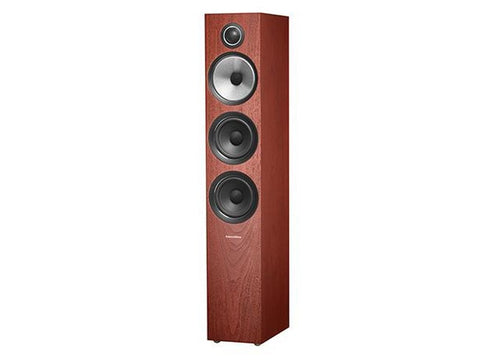 704 S2 3-WAY Floor Standing Speaker Pair Rosenut