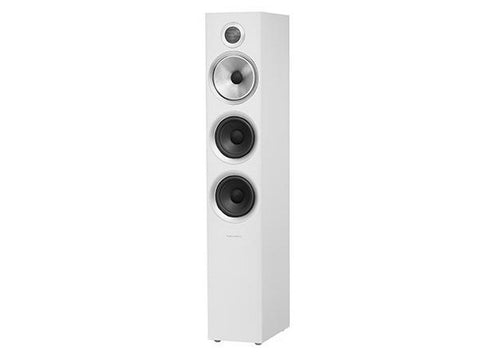 704 S2 3-WAY Floor Standing Speaker Pair Satin White