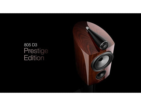Prestige Edition 805 D3 High-gloss Santos Rosewood Speaker Pair