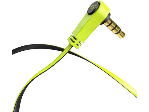 SMS Audio Bio Sport Earbud with Heart Monitor Yellow