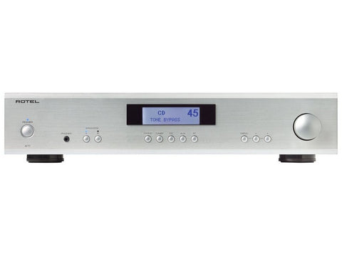 A11 Integrated Amplifier Silver