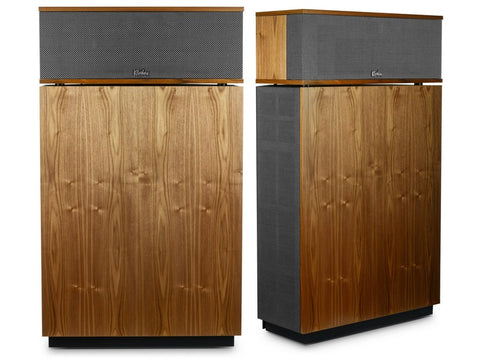 Klipschorn AK6 Heritage Floorstanding Speakers Pair WALNUT