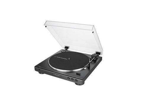 AT LP60XBT Fully Automatic Belt-Drive Stereo Turntable with Bluetooth Black Due August