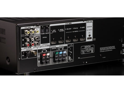 AVRX550BT 5.2 Channel A/V Receiver