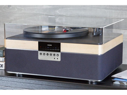 THE+RECORD PLAYER Wireless Bluetooth Streaming Maple