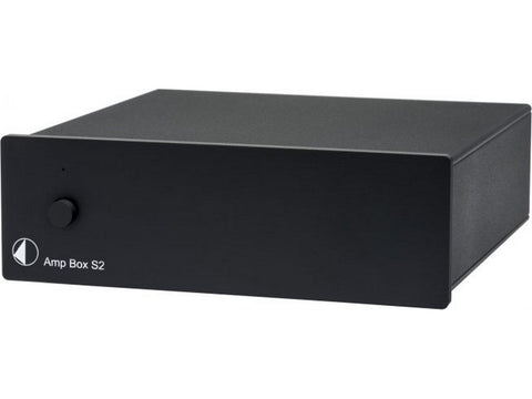 Amp Box S2 Stereo Power Amplifier Black