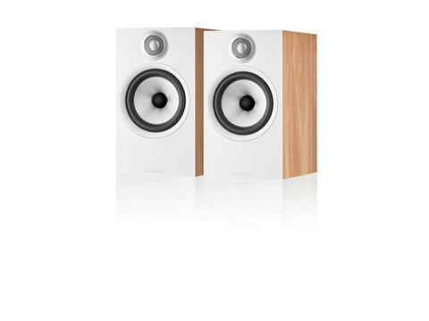 606 S2 Anniversary Edition Stand-mount Speaker Pair Oak