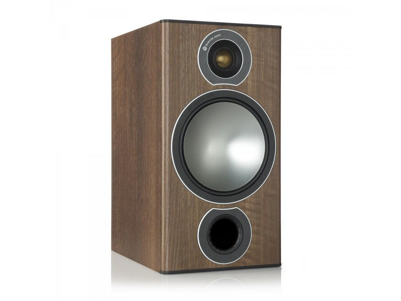 Bronze 2 Speaker Pair Walnut