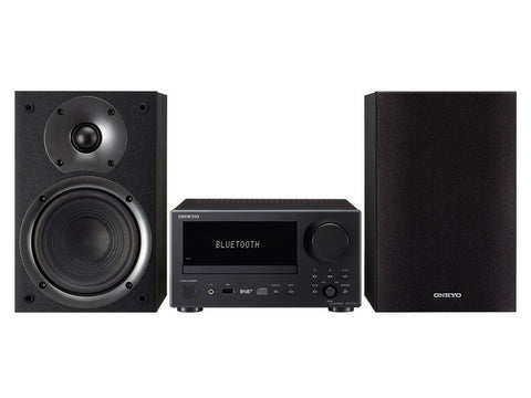CS-375D CD Receiver System with DAB+ Bluetooth Black