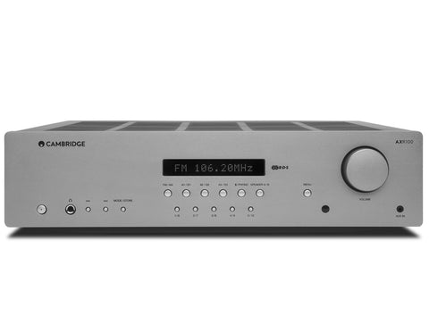 AXR100 FM/AM STEREO RECEIVER Luna Grey-MID OCTOBER