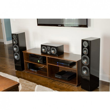 Prime Towers Speaker Pair - Piano Gloss Black