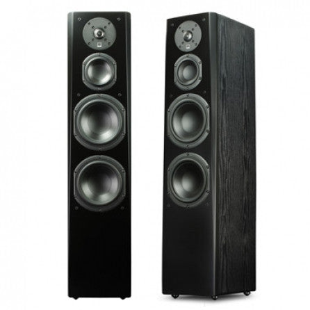 Prime Towers Speaker Pair - Black Oak