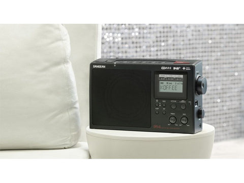 DPR-45 Portable Digital Radio Tri-Band AM/FM/DAB+ Black