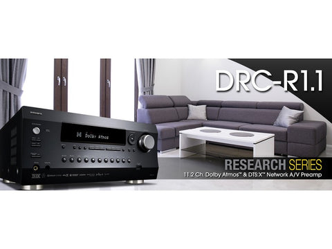 DRC-R1.1B 11.2 Channel Network Pre-Amp Processor