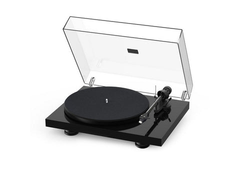 Debut Carbon Evo Turntable High Gloss Black with Ortofon 2M Red Cartridge-December