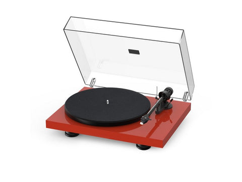 Debut Carbon Evo Turntable High Gloss Red with Ortofon 2M Red Cartridge-December