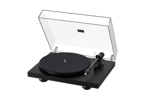 Debut Carbon Evo Turntable Satin Black with Ortofon 2M Red Cartridge