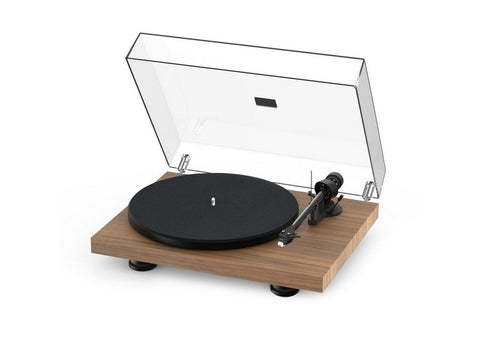 Debut Carbon Evo Turntable Walnut with Ortofon 2M Red Cartridge