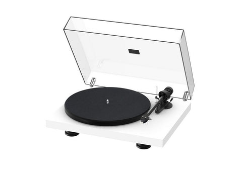 Debut Carbon Evo Turntable Satin White with Ortofon 2M Red Cartridge
