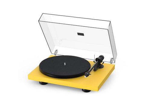 Debut Carbon Evo Turntable Satin Golden Yellow with Ortofon 2M Red Cartridge