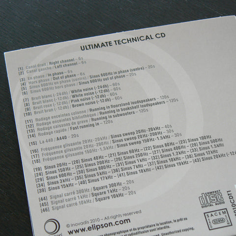 Ultimate Technical CD