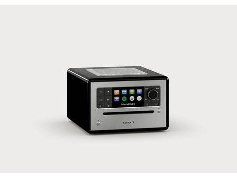 ELITE compact music system with CD FM/DAB+ Black