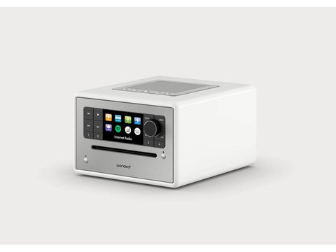 ELITE compact music system with CD FM/DAB+ White