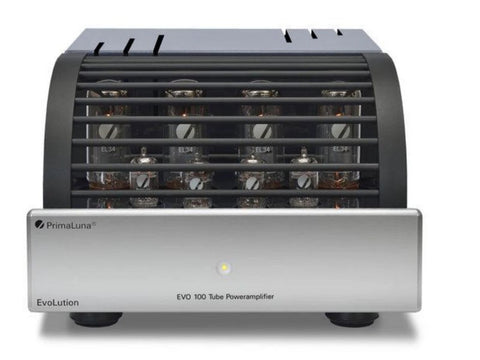 EVO 100 Tube Power Amplifier (EL34) Silver