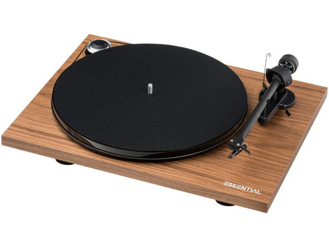 Essential III Turntable WALNUT with Ortofon OM10 Cartridge