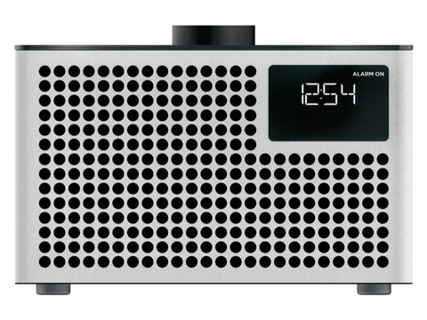 Acustica Lounge Radio FM/DAB+ BT Speaker Line-in Alarm Clock White