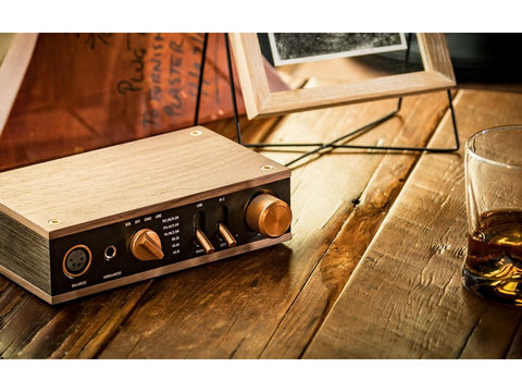 Heritage Headphone Amplifier WALNUT - Available Now!