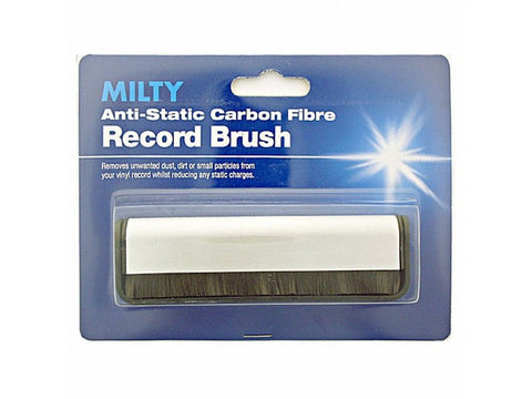 Anti-Static Carbon Fibre Vinyl Record Brush