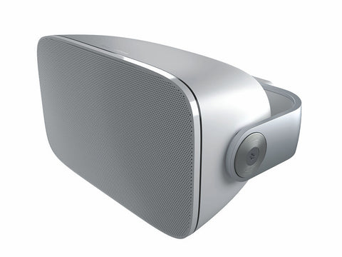 AM-1 Weatherproof Architectural Outdoor Speaker Pair White
