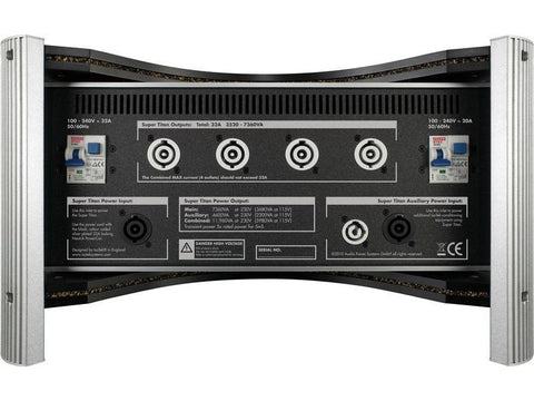EVO3 SUPER TITAN Ultimate Power Conditioner 32 AMP Silver