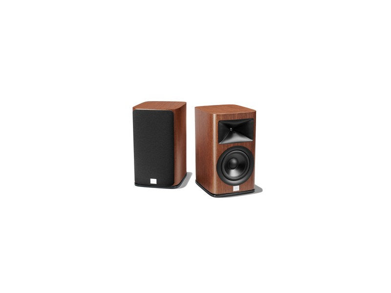 "HDI-1600 2-way 6.5"" Bookshelf Loudspeaker Walnut Pair"