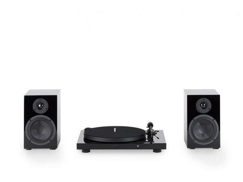 Pro-Ject Juke Box E & Speaker Box 5 Hi-Fi Set Black