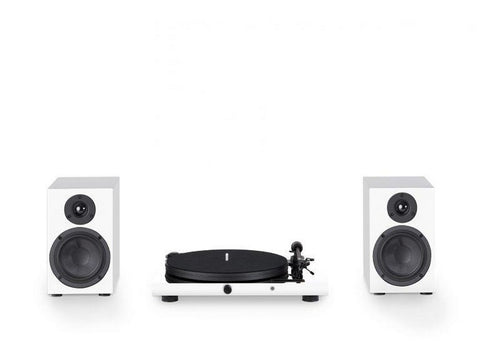 Pro-Ject Juke Box E & Speaker Box 5 Hi-Fi Set White