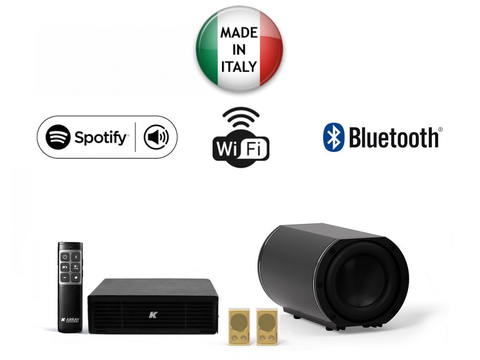 KAMUT2L1 Azimut Wireless Music System Gold