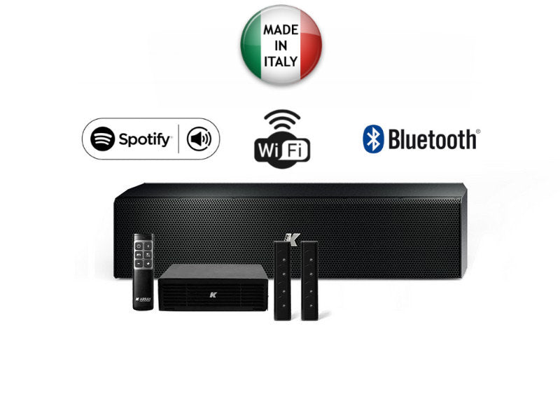 KAMUT2L Azimut Wireless Music System Black