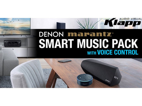 Smart Music Pack4 Marantz SR7012 + HEOS 7 + Echo Dot