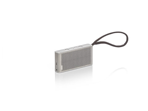KLANG M1 Portable Bluetooth Speaker Silver