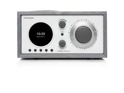 MODEL ONE+ Bluetooth Clock Radio Grey