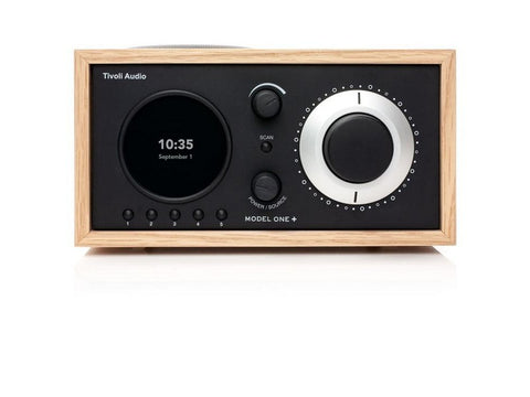 MODEL ONE+ Bluetooth Clock Radio Oak