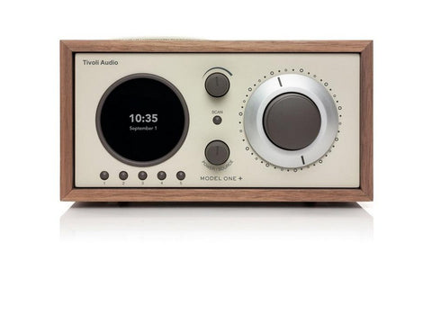 MODEL ONE+ Bluetooth Clock Radio Walnut