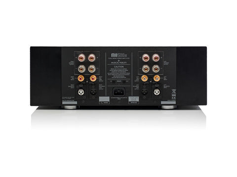 M8-500S: 500 Watt Stereo Power Amplifier Black