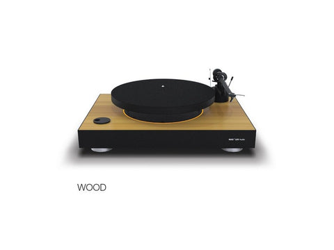 Levitating Turntable Wood