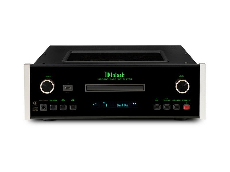 McIntosh MCD600 2-Channel SACD/CD Player | Klapp Audio Visual